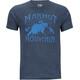Marmot Sunrise t-shirt Heren blauw